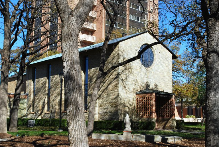The Little Chapel in the Woods at Texas Woman's University