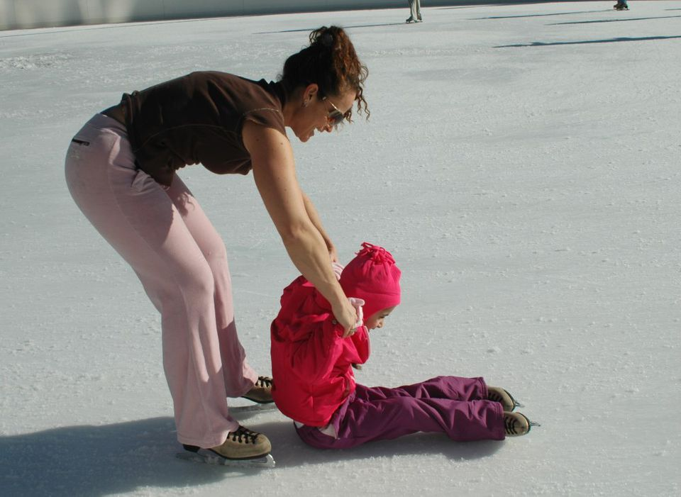 Ice skating rinks for family fun in the Reno / Tahoe area.