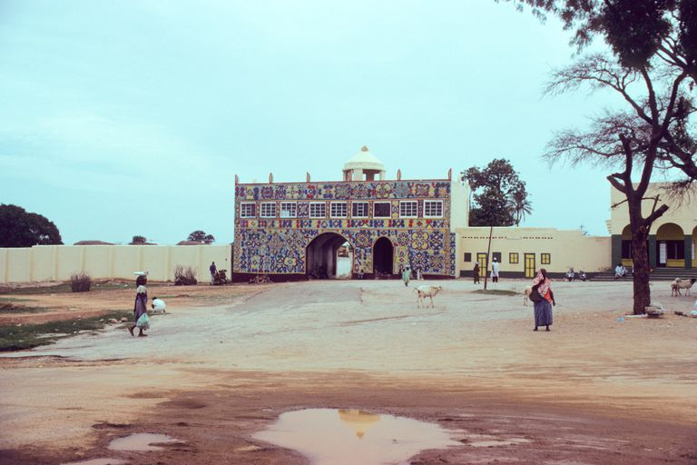 Emir's palace in the ancient city of Zaria