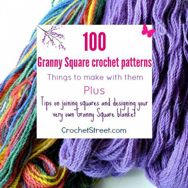 100 More Granny Square Crochet Projects