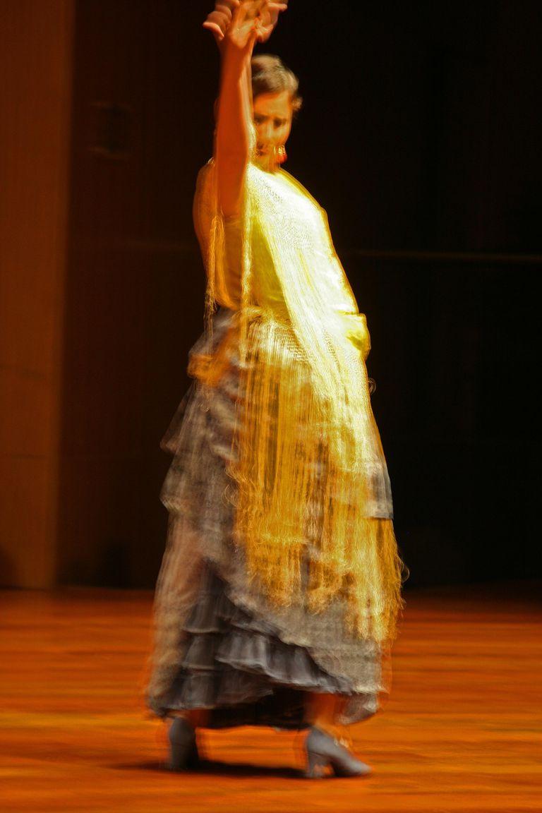 Aprende a entender las partes de la estructura básica de el baile flamenco en su expresión tradicional, tales como salida, letras, escobilla y fin de baile.