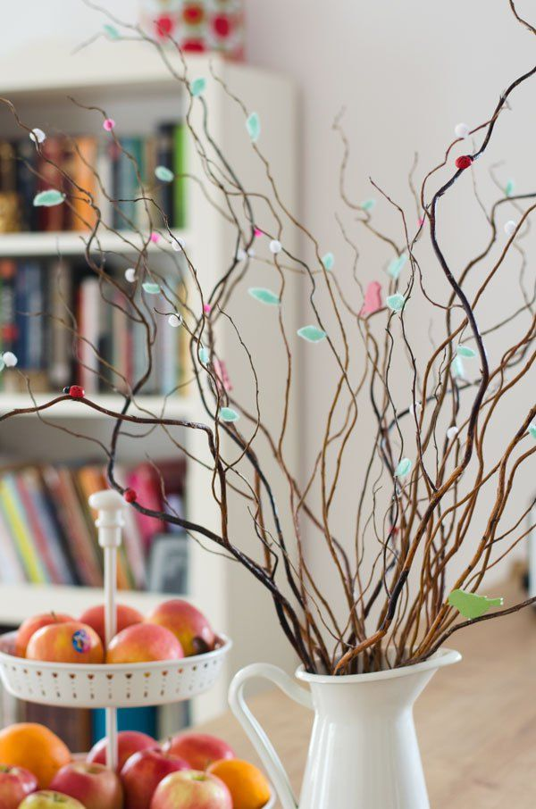 curly willow arrangement