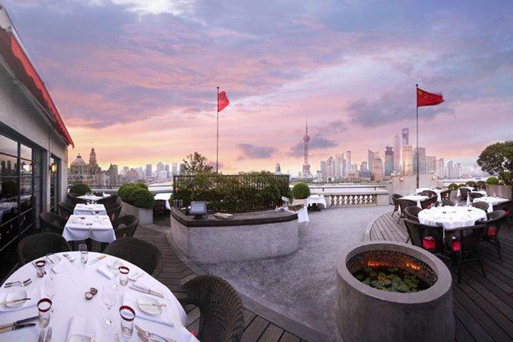 M on the Bund terrace shanghai