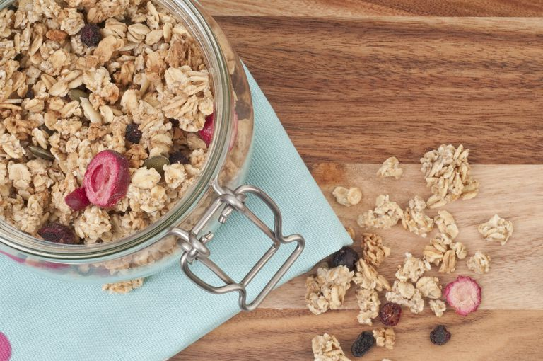 Granola nutrition facts