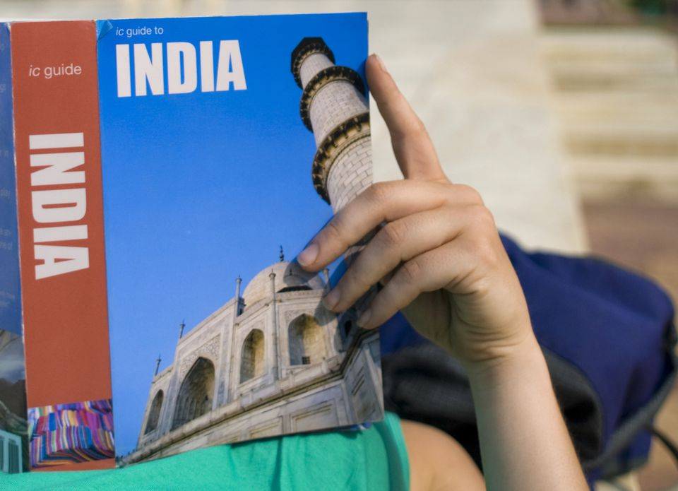 India guide book.
