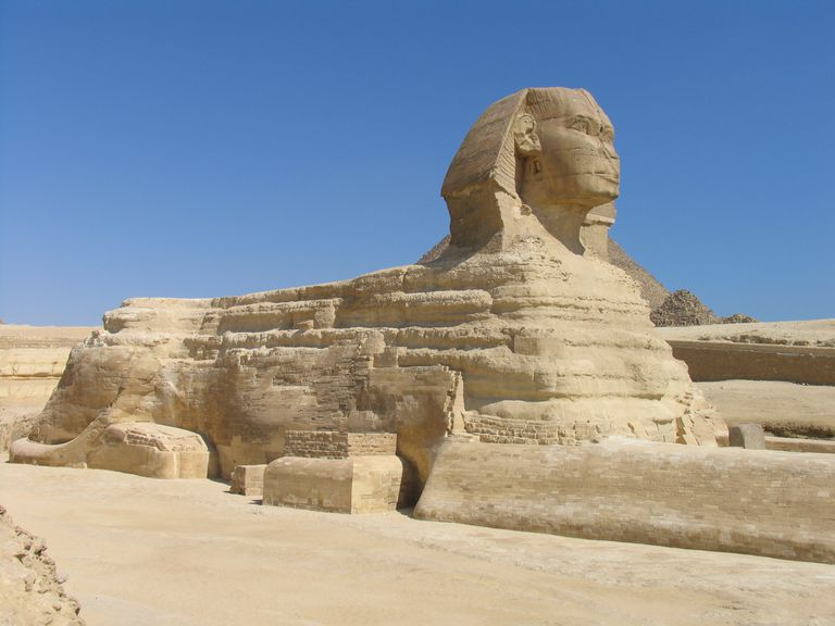 The Sphinx, Old Kingdom, Egypt