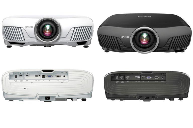 Epson Powerlite Home Cinema 5040 (left) and Pro Cinema 6040 (right) Projectors