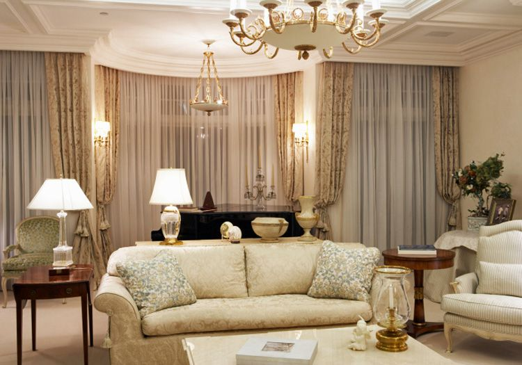 Classic Traditional Style Living Room Ideas - Interior design living room traditional