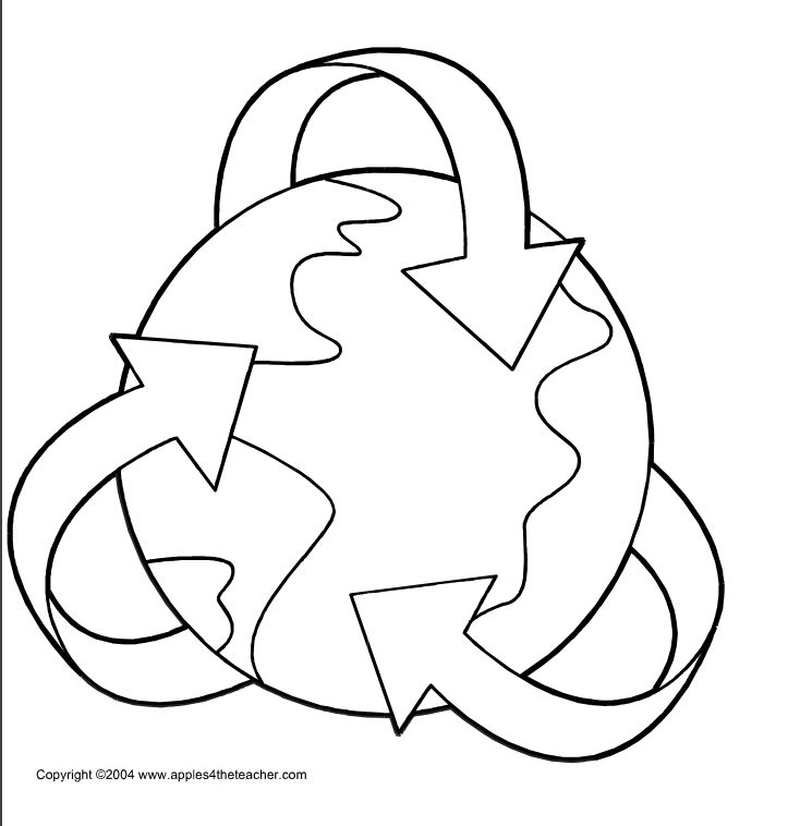 Apples 4 The Teachers Free Earth Day Coloring Pages