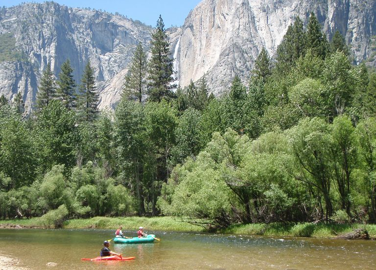 Yosemite Rafting Yosemite Falls