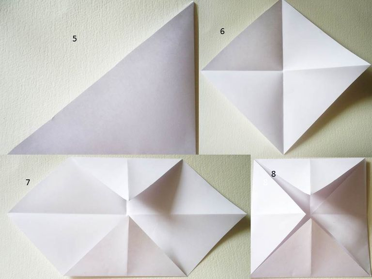 Comecocos sacapiojos o adivinador de papel - Como hacer jarrones de papel ...