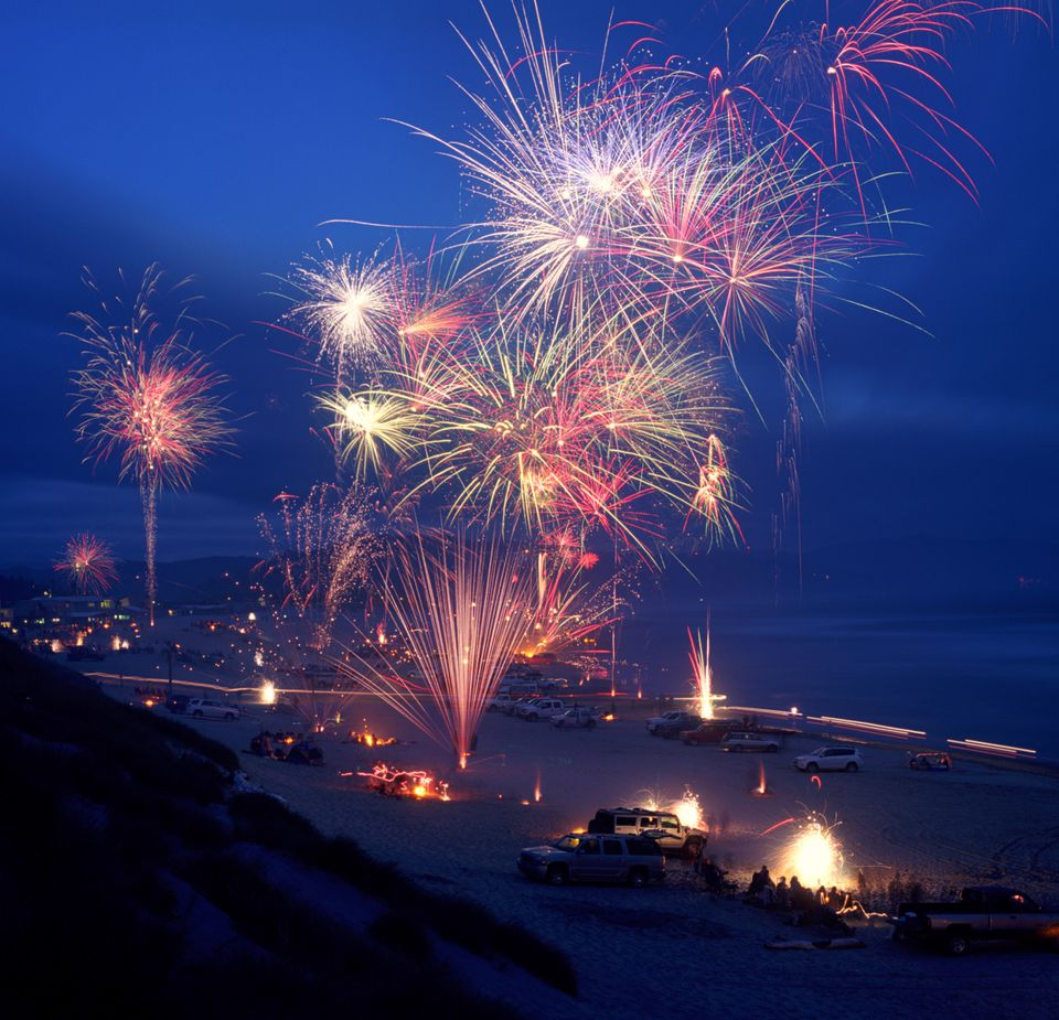 Fireworks on the Coast