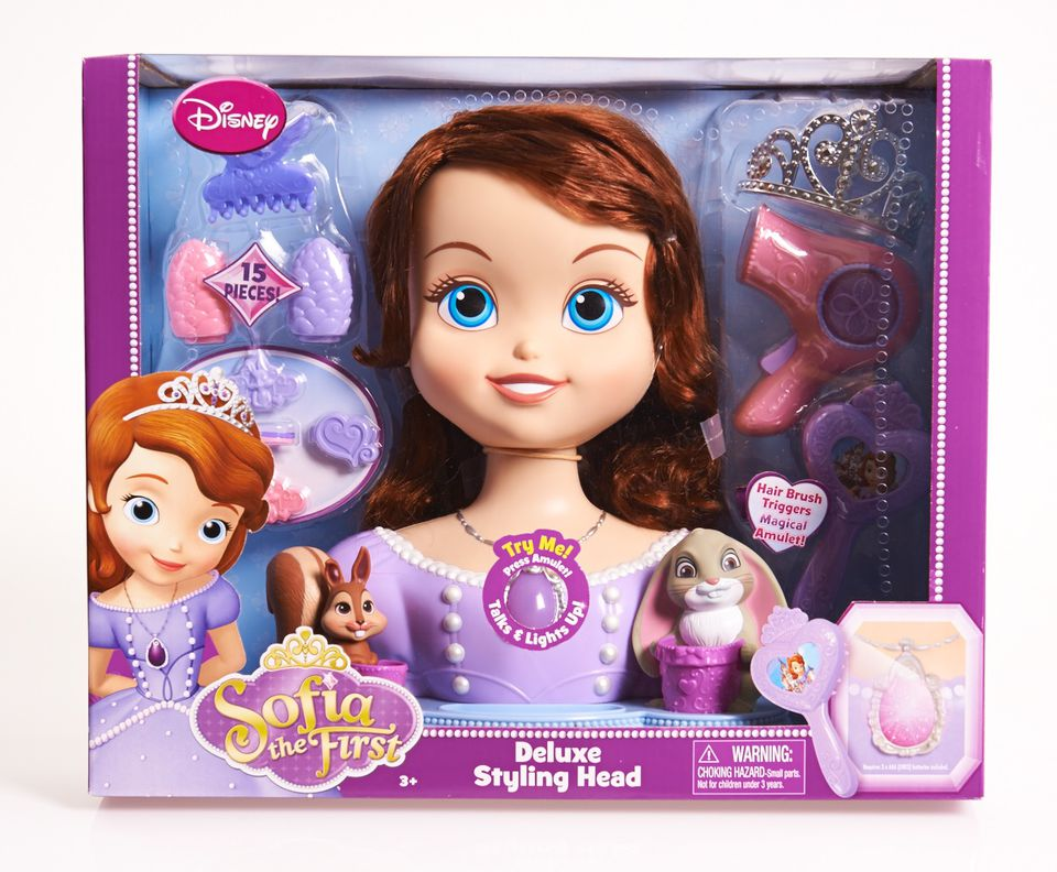 Sofia the First Deluxe Styling Head