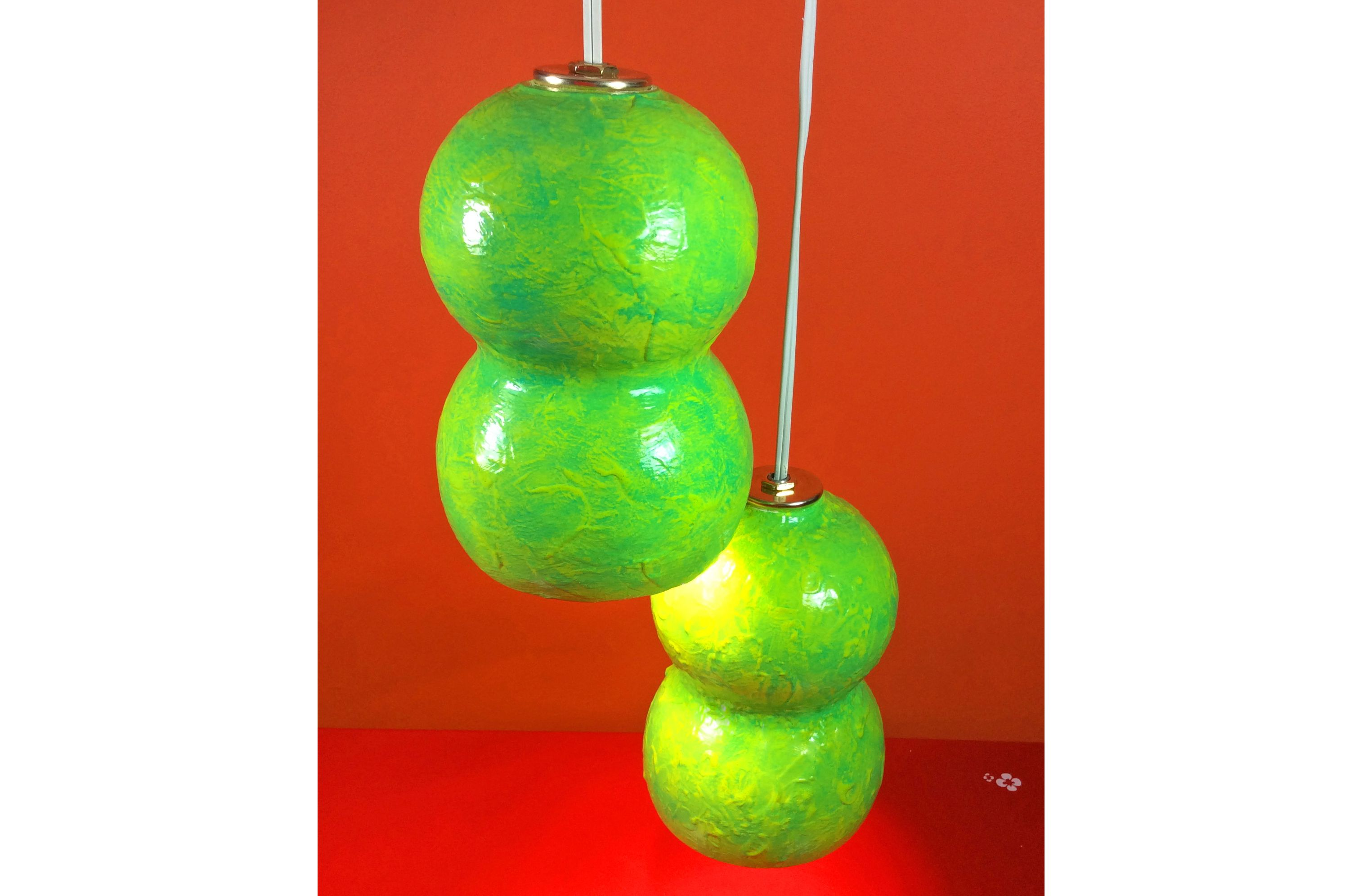 how to make a gourd lamp
