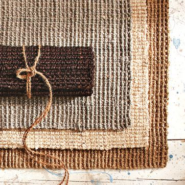 a picture of jute carpeting