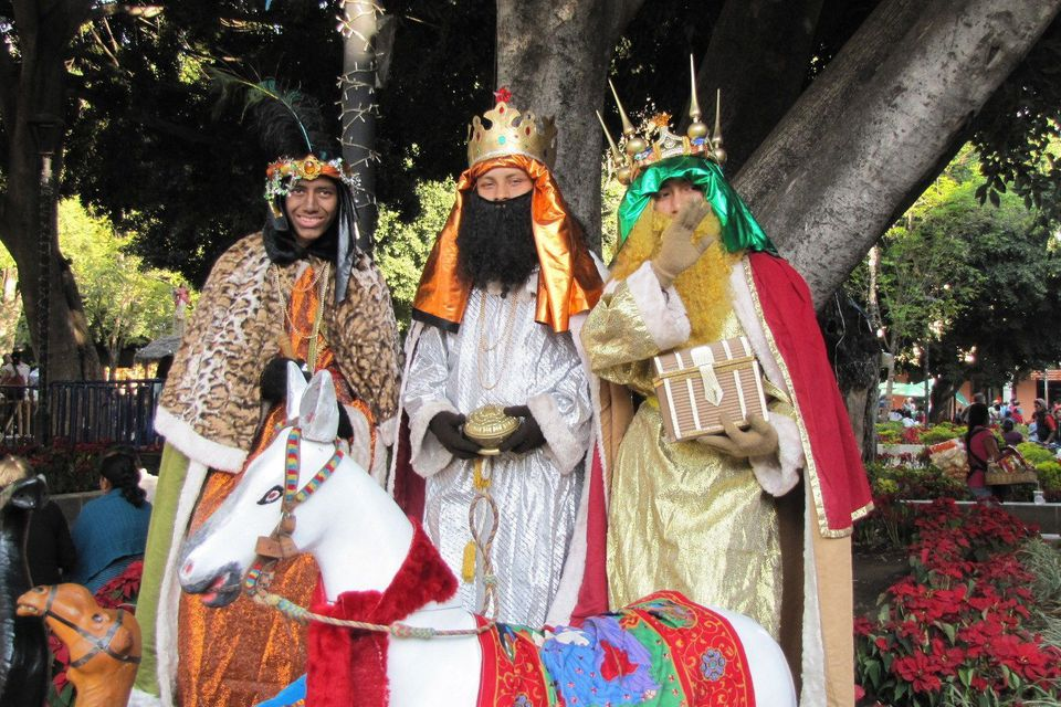 Three Kings in Mexico
