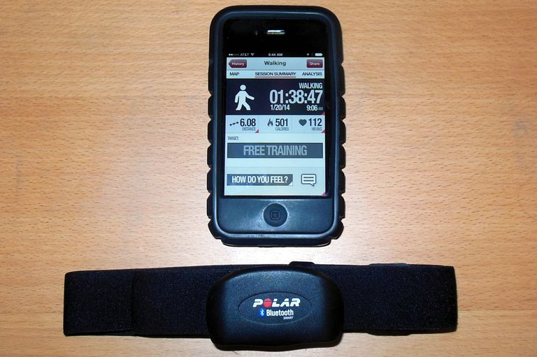 Polar H7 Bluetooth Chest Strap and Polar App