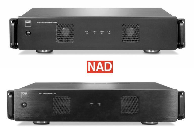 NAD CI 980 (Top) and CI 940 (Bottom) Audio Distribution Amps