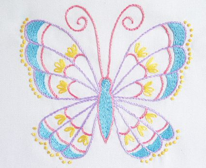 10 free embroidery patterns for beginners stitch a stunning butterfly in 3 simple stitches beginner embroidery dt1010fo