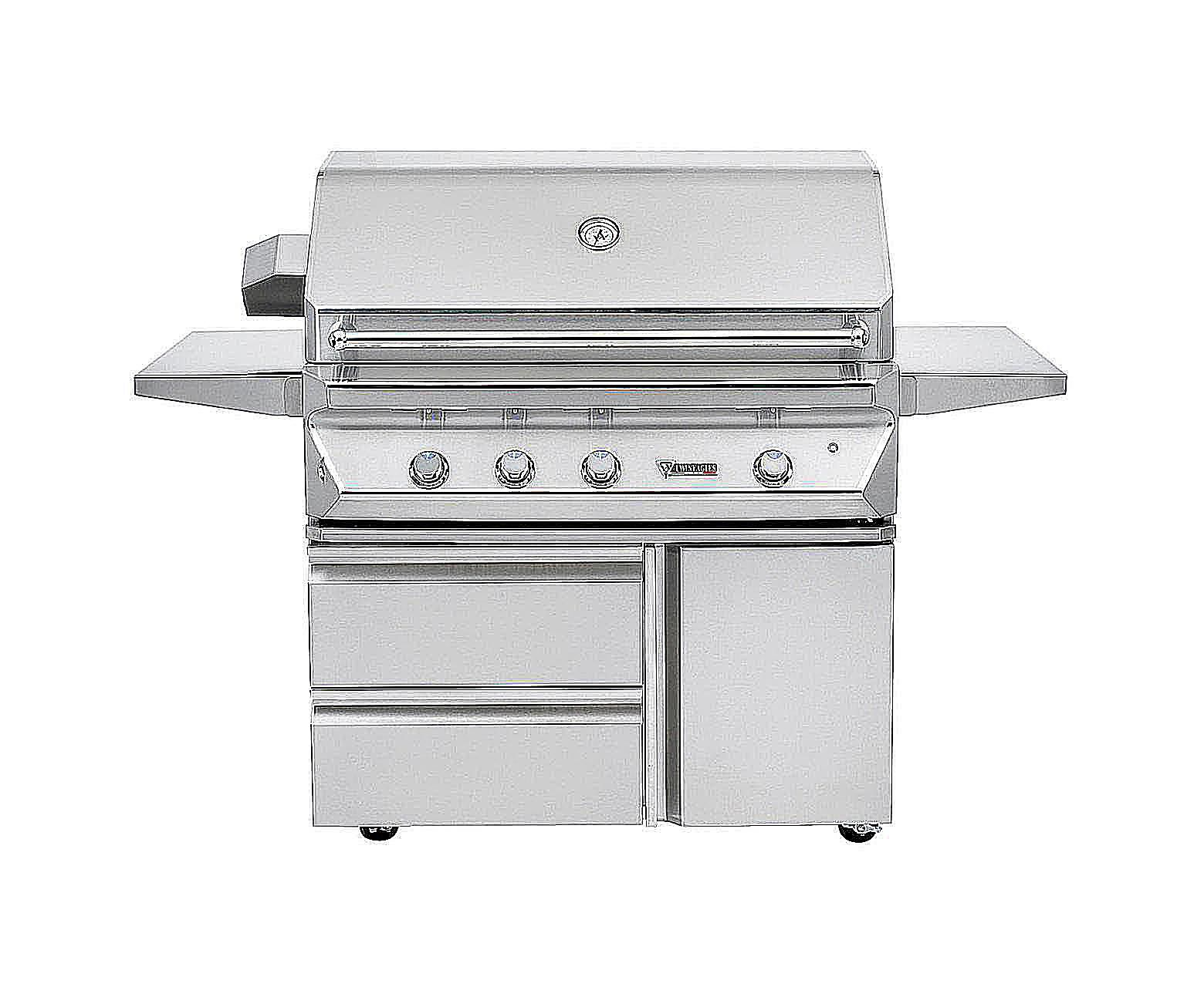 Converting a gas grill to lava rocks twin eagles pinnacle series 42 inch gas grill dailygadgetfo Images