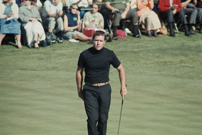 Gary Player photographed during the 1968 Masters.