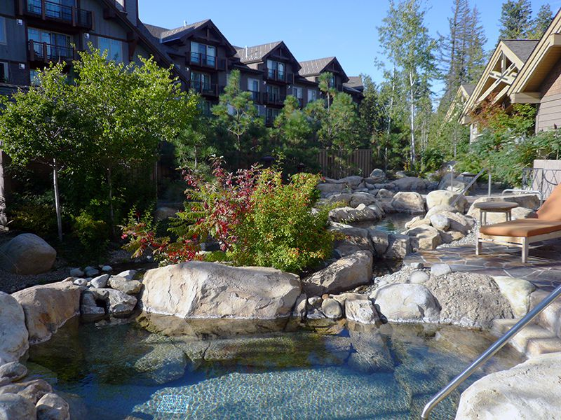 Picture of Mineral Pools at Suncadia Resort's Glade Springs Spa ©Angela M. Brown (2010)