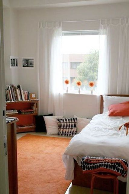 Colorful Dorm Room