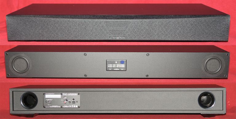 Cambridge Audio TV5 Speaker Base - Front and Rear View