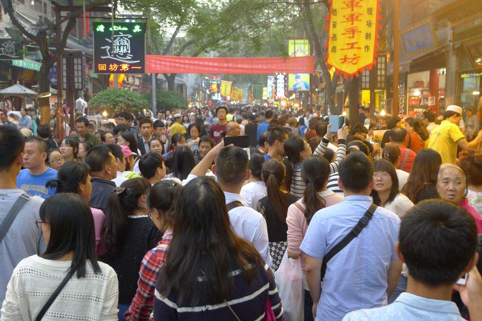 Golden Week National Day Xi'an