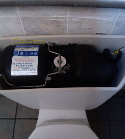 How To Repair A Leaking Pressure Assisted Toilet