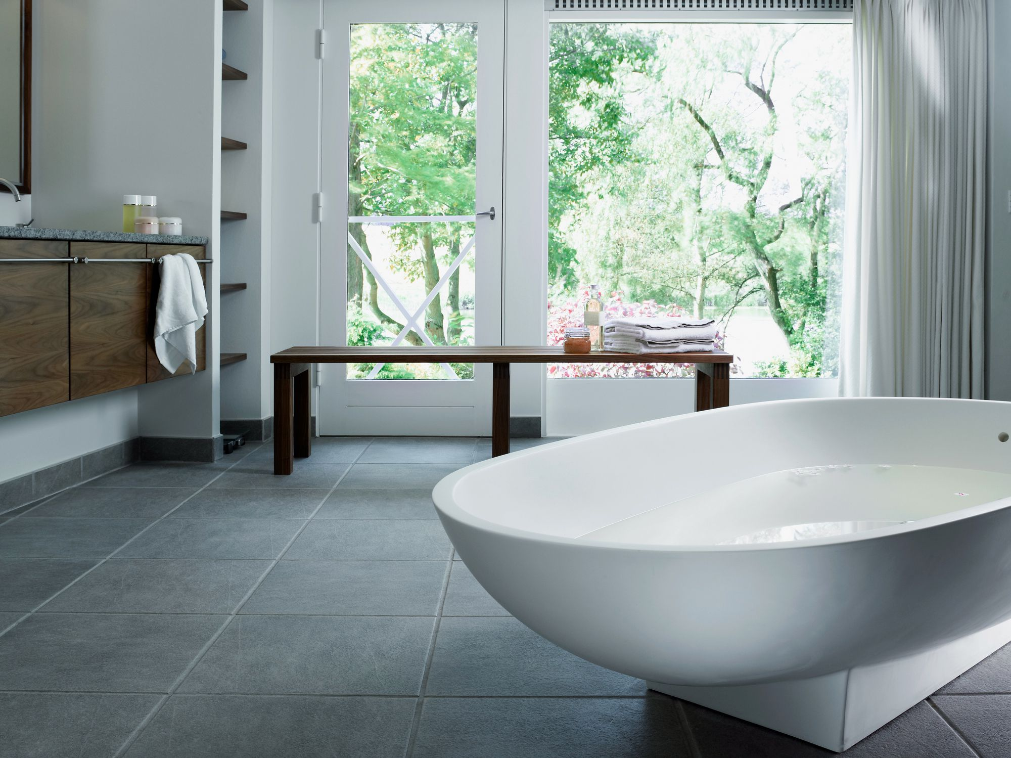 Bathroom Vinyl Tile Vs Ceramic Tile - Bathroom ceramic tile floor