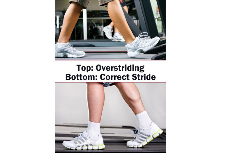 Walking Stride - Overstriding and Correct Strides