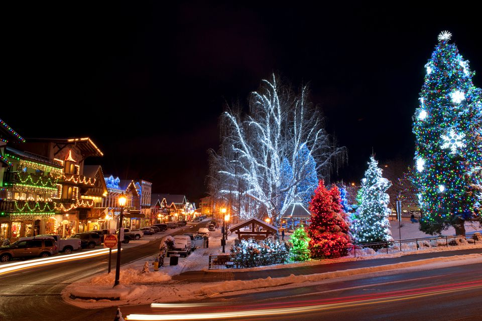 Christmastime in Leavenworth, Washington