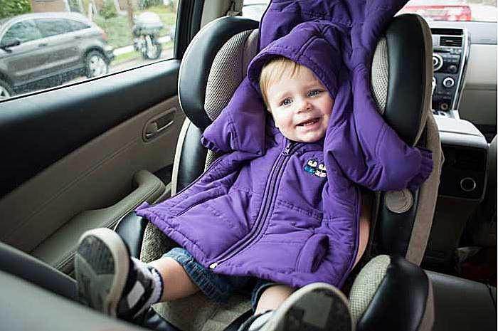 cozywoggle car seat coat