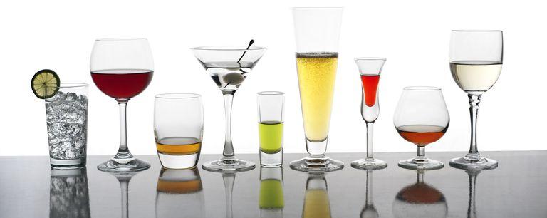 Various cocktails