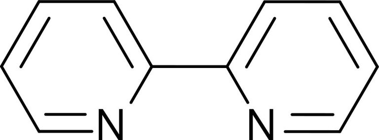 This is the chemical structure of 2,2'-bipyridine.