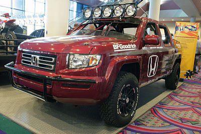 Custom Honda Ridgeline Pickup Trucks At The SEMA Show - 2005 ridgeline