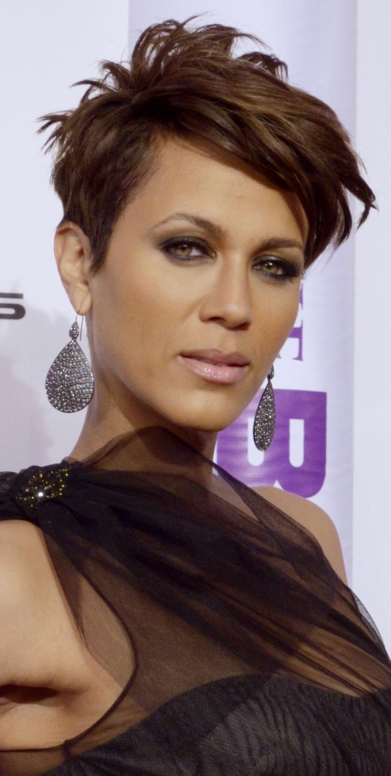 short, edgy haircuts for black women