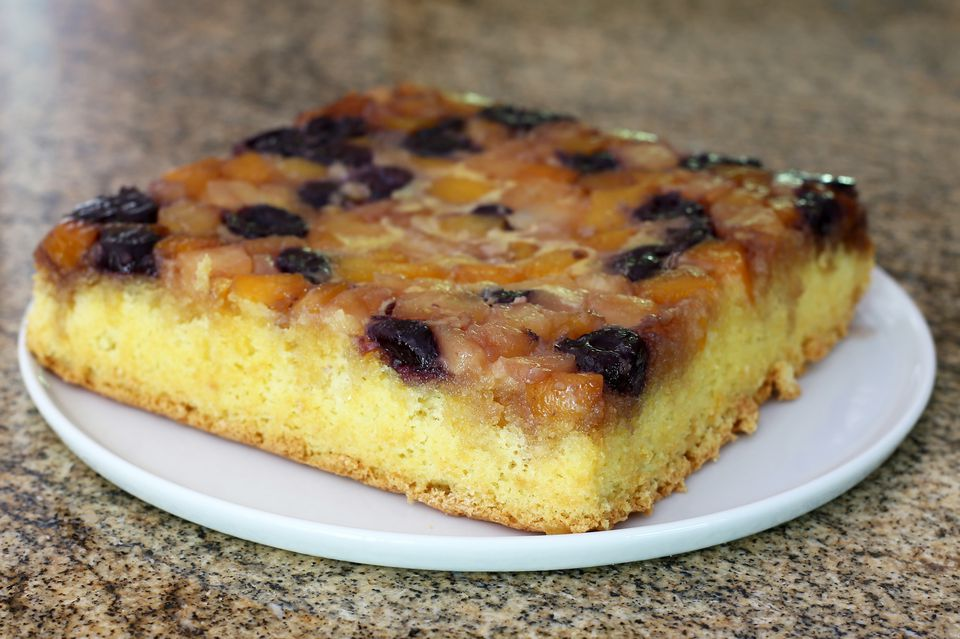 Upside-Down Fruit Cocktail Cake
