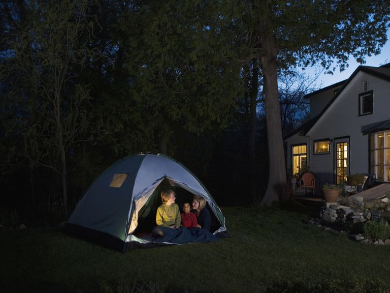 Fun Ideas for Backyard Camping on camping party ideas for teens, backyard party ideas for teens, camping checklist for teens,