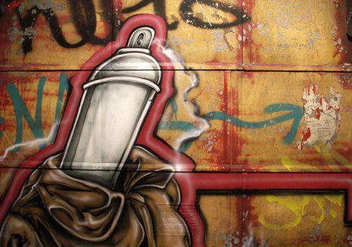 Not-so-random Graffiti Art at Bunk Brisbane Hostel