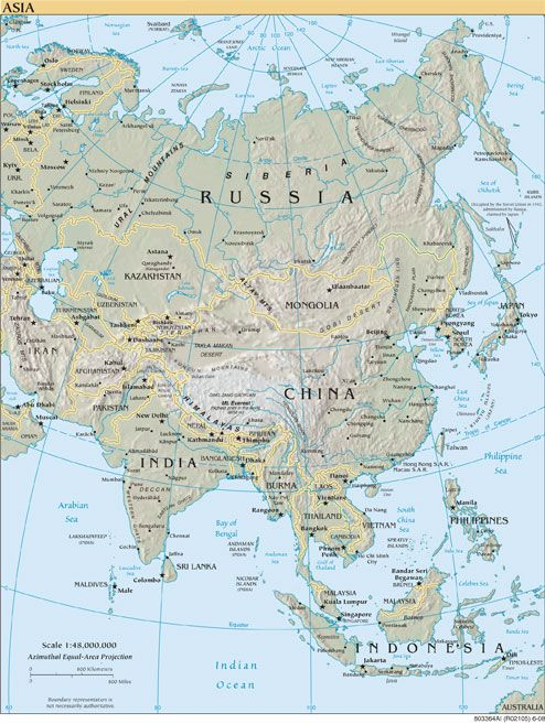 Plan Your Cruise Using South And East Asia Cruise Maps - Asia maps