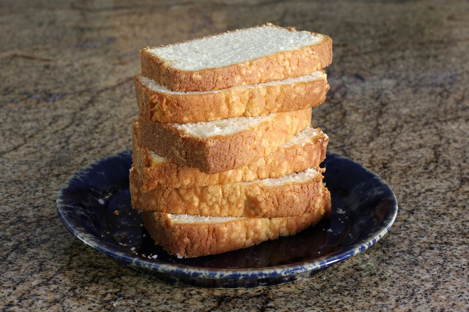2 egg pound cake loaf