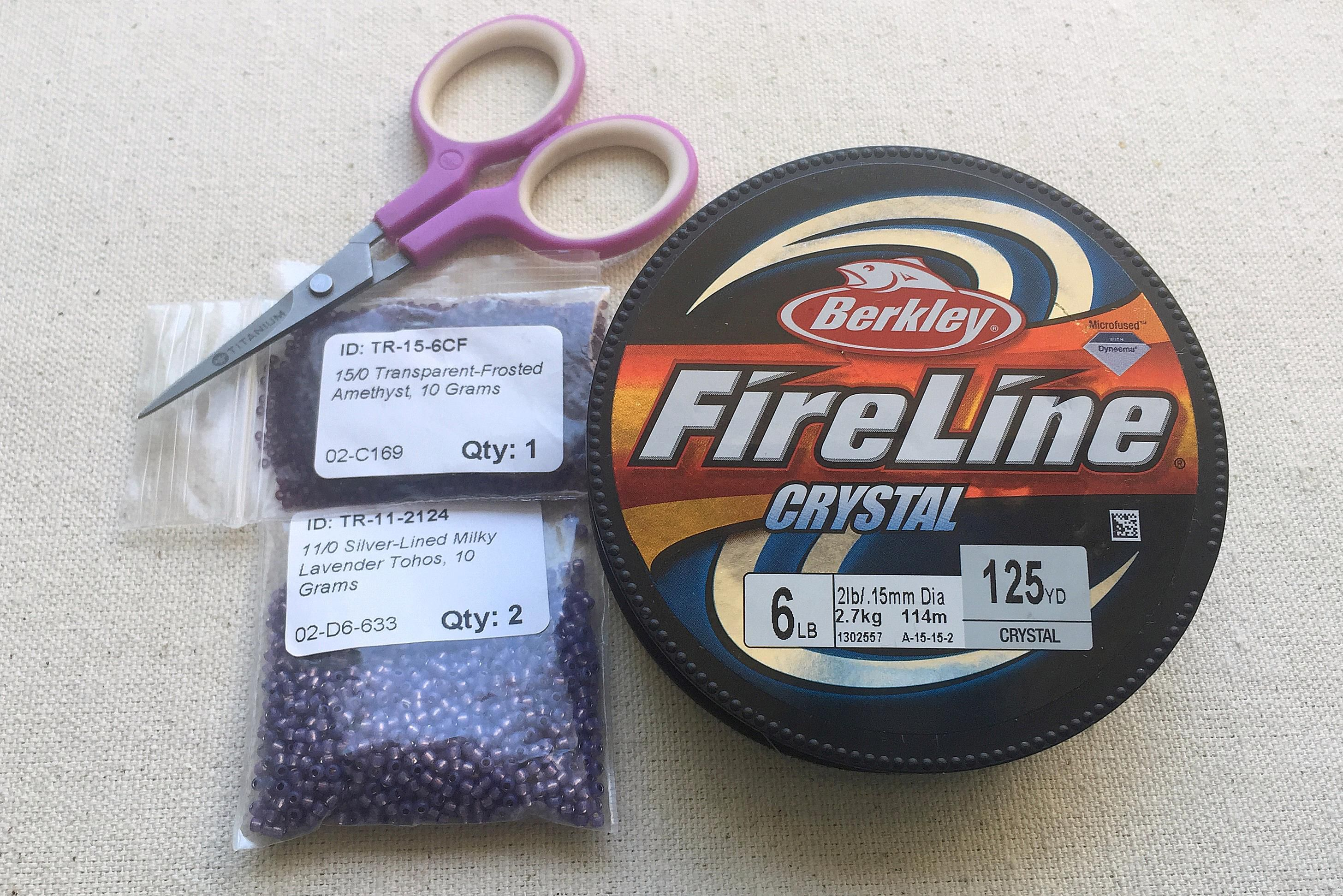 fireline beading thread review