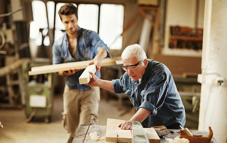 Carpenter Working in Retirement