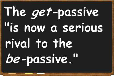 """""""get""""-passive in grammar"""