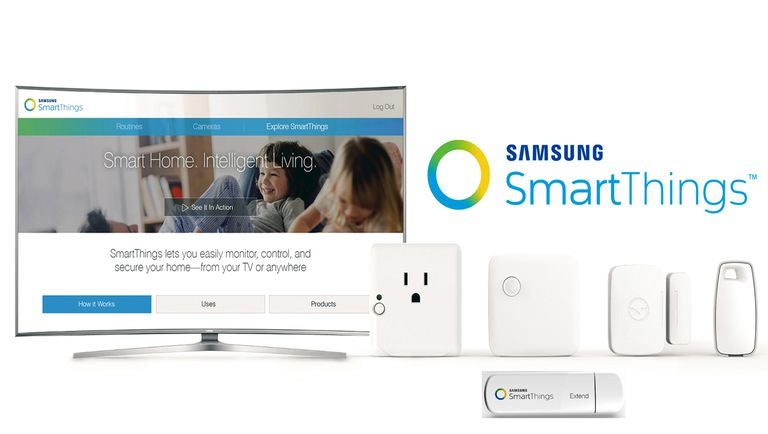 Samsung Smart Things System For TVs