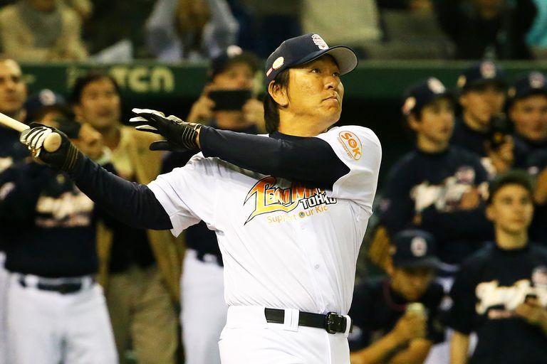 Hideki Matsui, Japanese baseball star