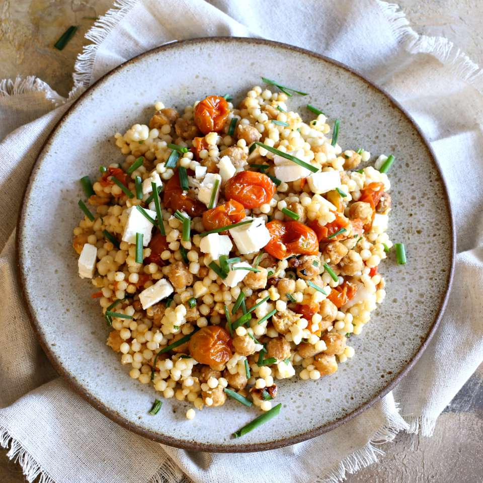 Falafel-Spiced Middle Eastern Couscous