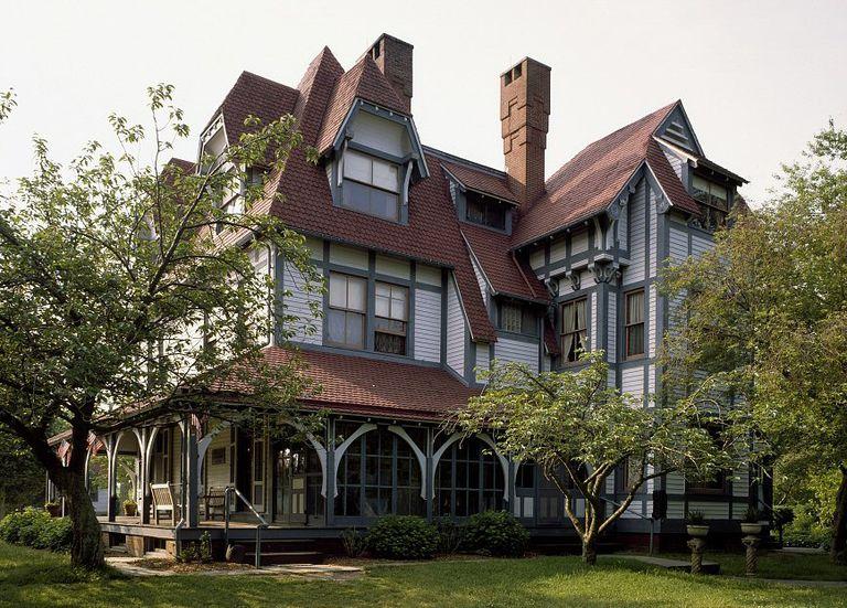 Emlen Physick House 1878 Stick Style By Architect Frank Furness Cape